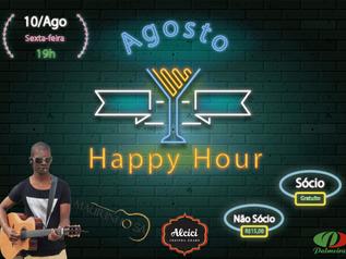 Vem aí o Happy Hour de Agosto
