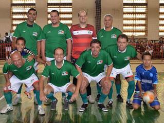 Veteranos do Palmeiras vencem Cruzeiro por 4 x 1 e permanecem invictos na Liga Master de Futsal.