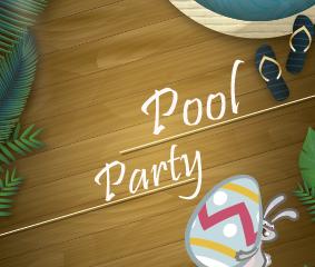 Pool Party de Páscoa é dia 20/03 !