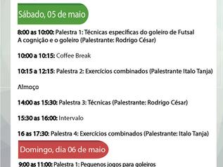 Workshop para goleiros: cronograma