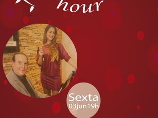 Na próxima sexta teremos Happy Hour romântico: Dia dos namorados !