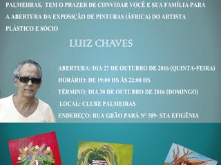 """Exposição de Pinturas """"Áfricas"""" no Palmeiras!!!"""