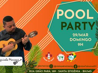 Vem aí a Pool Party de Março