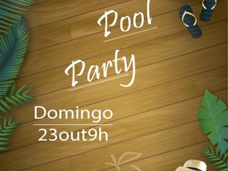 Pool Party de Outubro é no Palmeiras!!!
