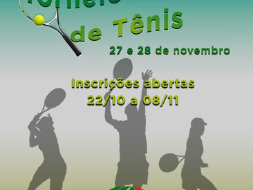 Torneio interno de tênis 2021