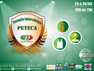 Interclubes de Peteca, organizado pelo Palmeiras!