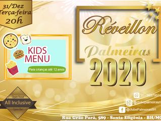 Menu Kids especial no Réveillon do Palmeiras