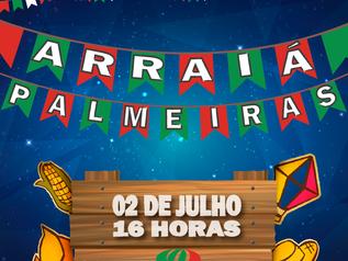 Vem aí o Arraiá do Palmeiras !