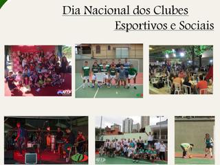Dia Nacional dos Clubes Esportivos e Sociais !