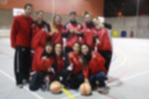 foto sub 21 femení club bàsquet alisos