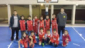 PREMINI CLUB BASQUET ALISOS 2013