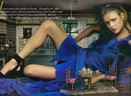 Natalia in Wonderland.