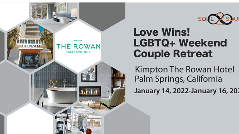 Reconnect & Unwind: Love Wins! LGBTQ+ Weekend Couples Retreat(PALM SPRINGS)