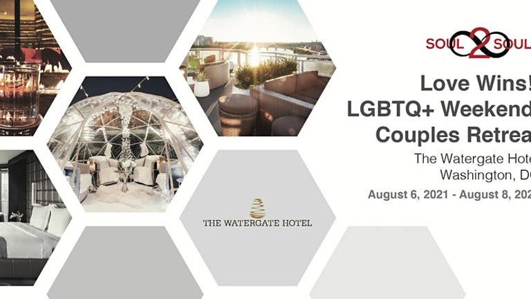 Reconnect & Unwind: Love Wins! LGBTQ+ Weekend Couples Retreat (DC)