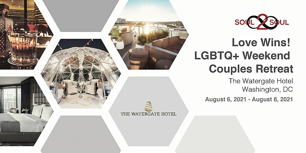 Reconnect & Unwind: Love Wins! LGBTQ+ Weekend Couples Retreat(SCOTTSDALE)
