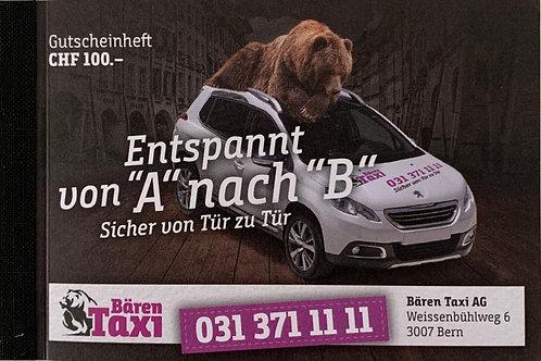 Taxi Gutscheine für CHF 105.00