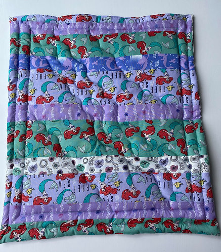 Little Mermaid Patchwork Blanket