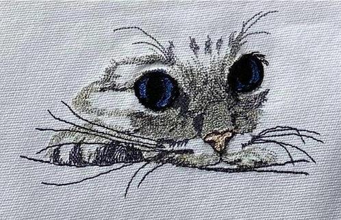 Embroidered Tea Towel - Design 1