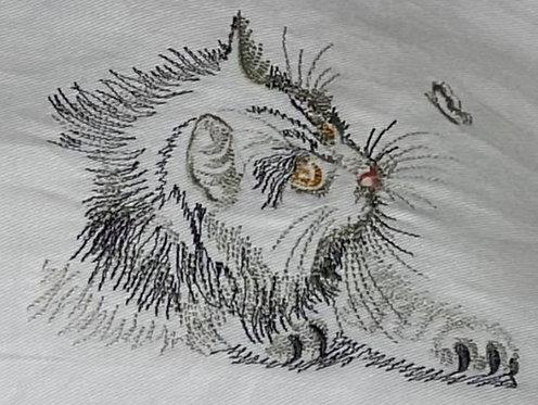 Embroidered Tea Towel - Design 5