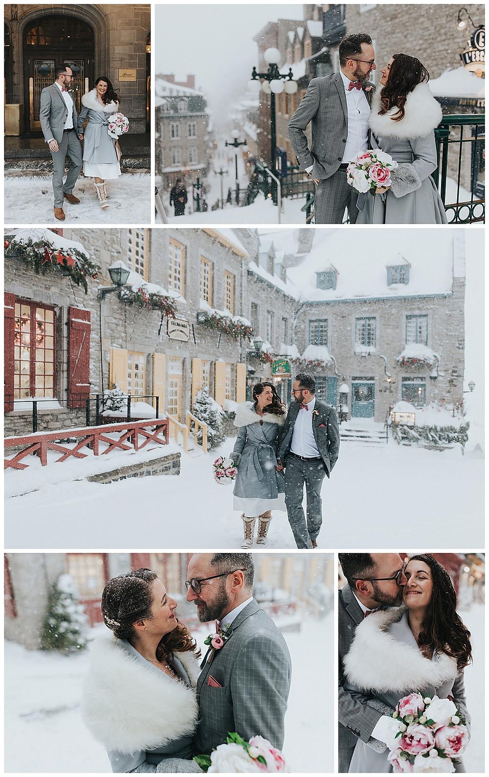 Mariage Ville de Québec wedding Quebec city