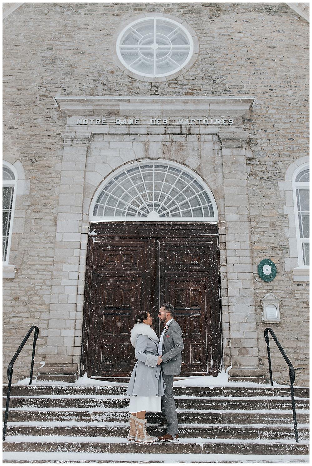 Wedding Petit Champlain Notre-Dame-Des-Victoires mariage