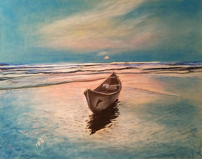 Adrift... Rembrandt soft pastels and Der