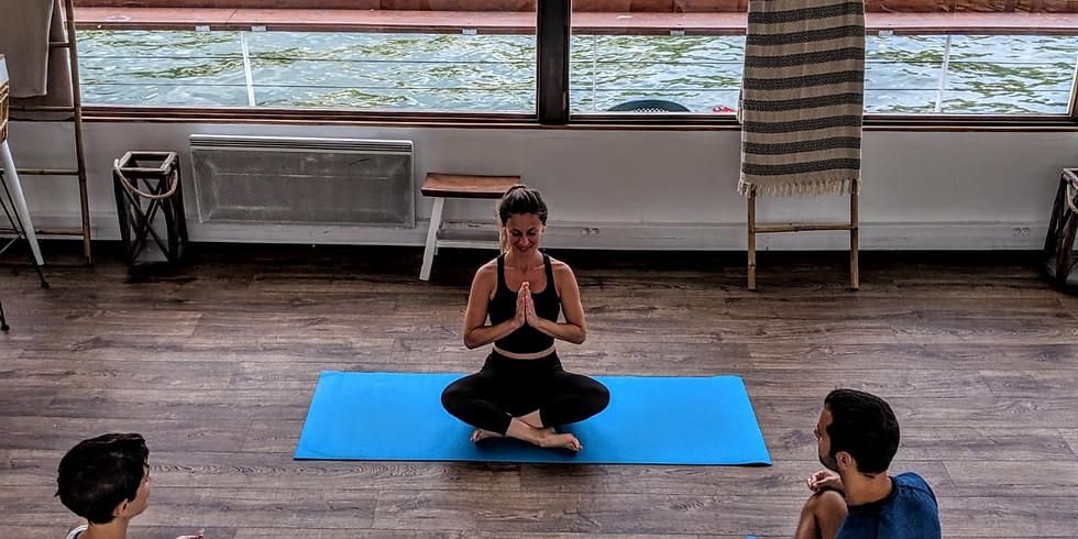 Cours de Hatha Yoga tous les dimanches au Bal de la Marine