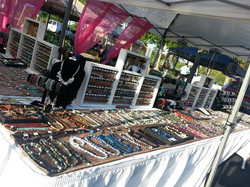 Selling our beautiful, handmade gemstone jewelry til 2!