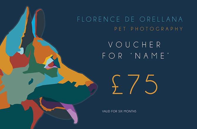 pet photography voucher