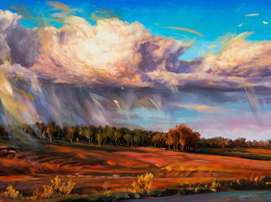 Thundercloud Upheaval at Dove Creek