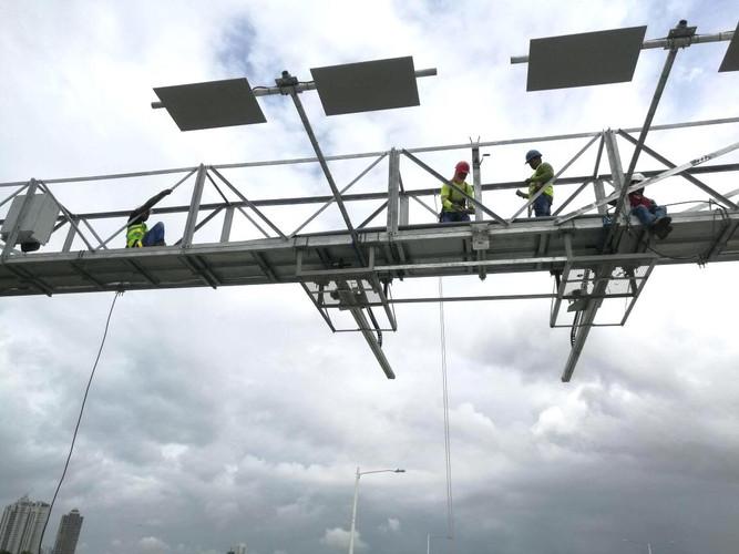 Fabricación e instalación de estructura galvanizada