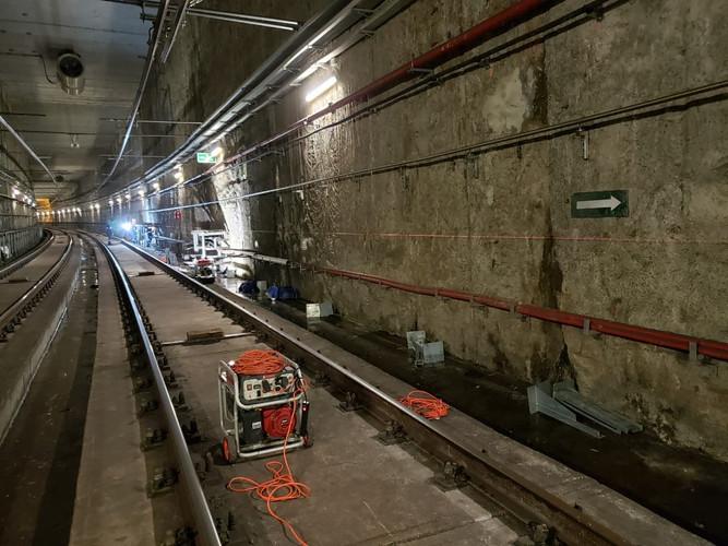 Proyecto pasarelas de evacuación en el Metro de Panamá