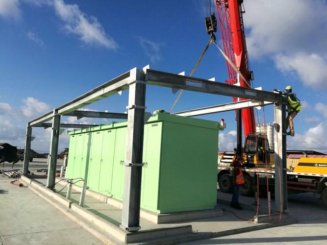 Suministro e instalación estructura para subestación eléctrica