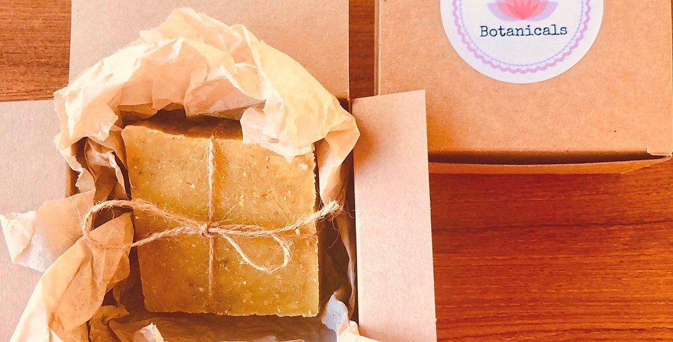Pure and Simple Oatmeal Soap Bar