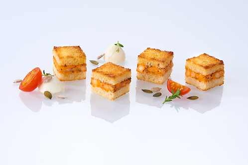 Mini veggie croque monsieur (x40) - HK$ 2.1/pc