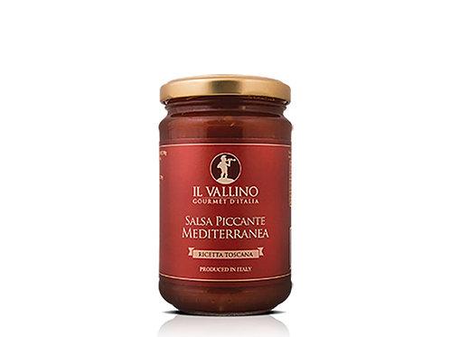 Hot Meditterannce Sauce Il Vallino