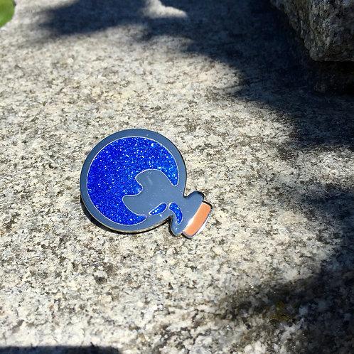 Blue Potion Pin