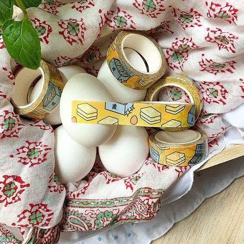Egg Club Washi Tape