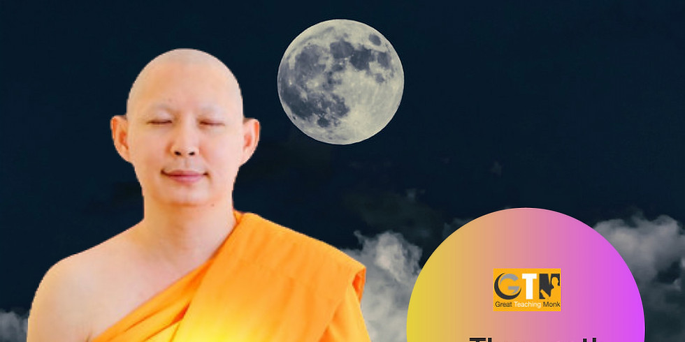 Meditation Class and Wisdom Talk with Ven Pisit