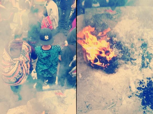 chichi fires, Antigua Guatemala