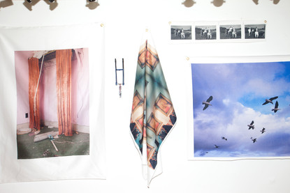 """gallery wall, from """"a particularly hard time with orthodoxy"""""""