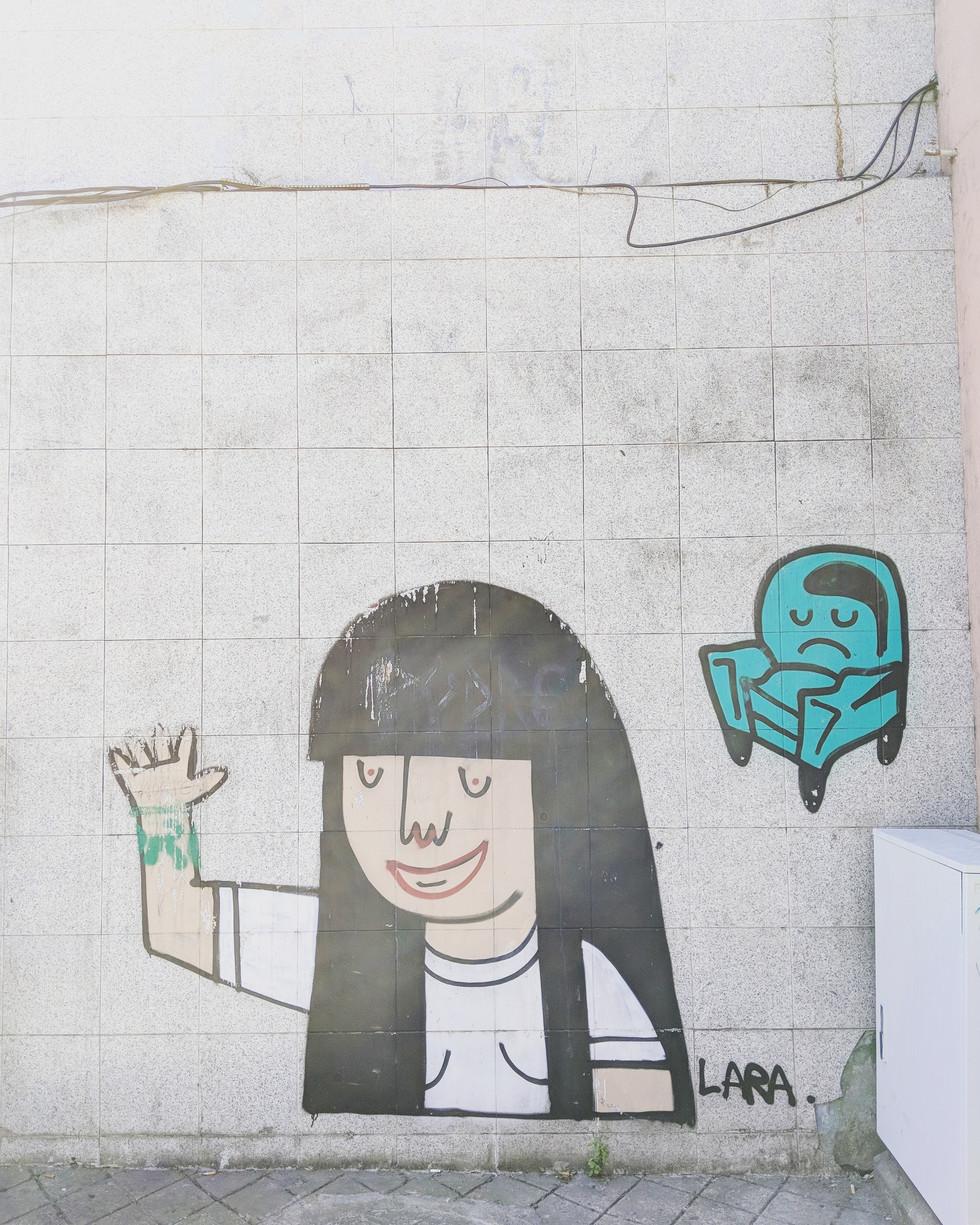 Portugal, Porto street art