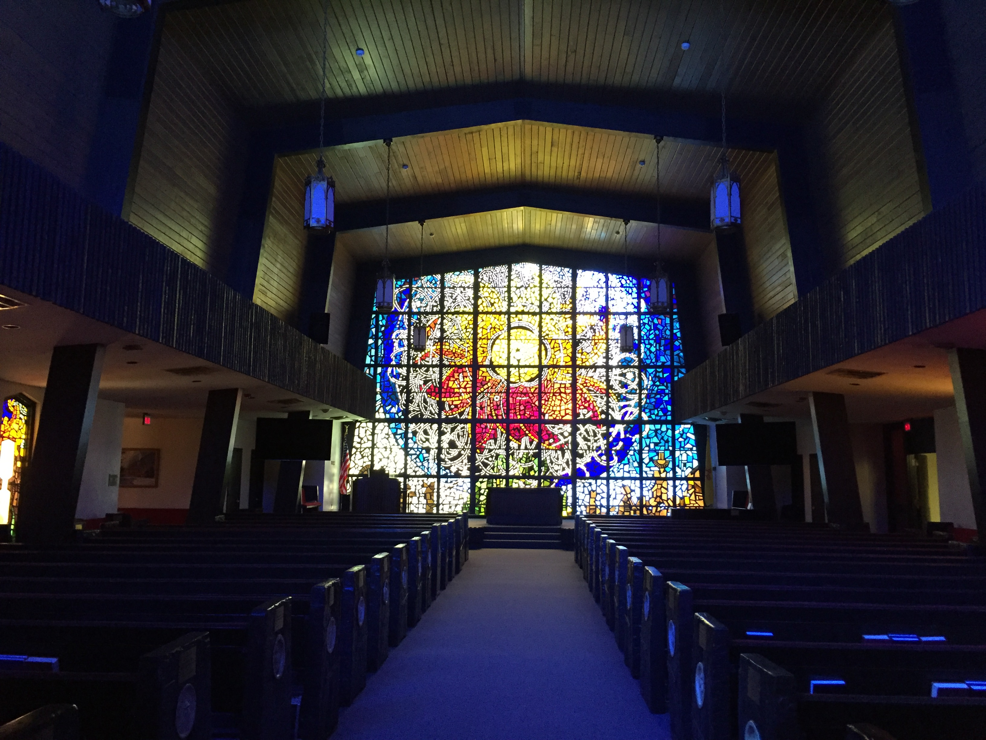 NMMI Chapel North Window Restoration