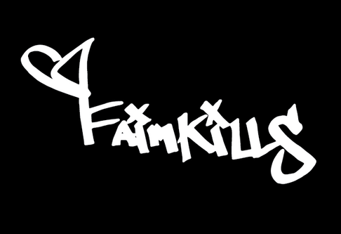 whitetypefaimkills_logo - Adam Martinez.