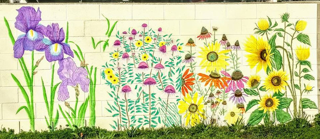 Garden wall art 50836333_102154310487885