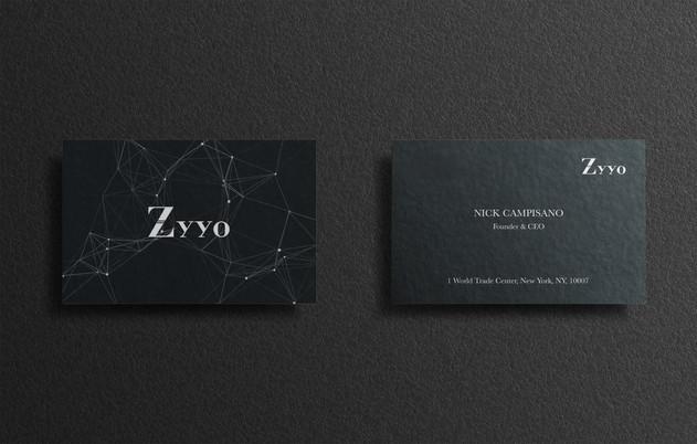 Business Cards; Zyyo