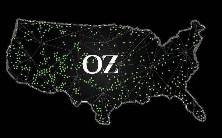 Zyyo; OZ Map Design