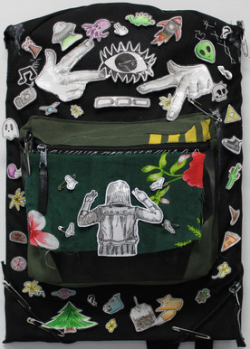 Backpack; Collage