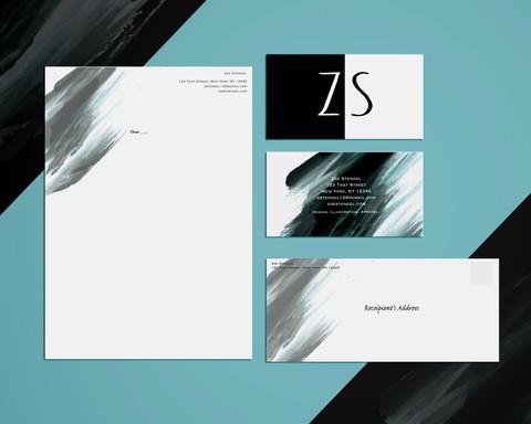 Stationery Set; ZS [Dark]