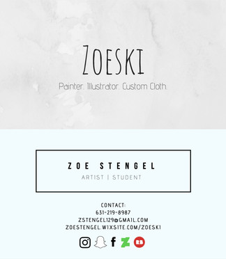 Zoe Stengel; Business Card_V1